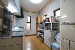キッチンの様子。(2014-01-14,共用部,KITCHEN,1F)