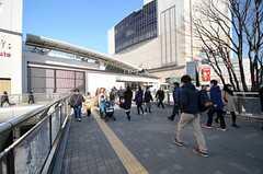 各線・立川駅の様子。(2014-01-14,共用部,ENVIRONMENT,1F)