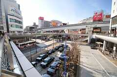 各線・立川駅ロータリーの様子。(2014-01-14,共用部,ENVIRONMENT,1F)