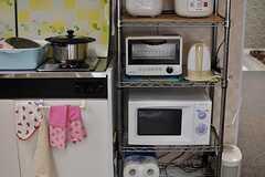 キッチン家電の様子。(2013-09-02,共用部,KITCHEN,2F)