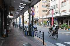 シェアハウスからつくばエクスプレス・浅草駅へ向かう道の様子。(2013-09-02,共用部,ENVIRONMENT,1F)