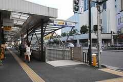 つくばエクスプレス・浅草駅前の様子。(2013-09-02,共用部,ENVIRONMENT,1F)
