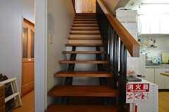 階段の様子。(2016-01-14,共用部,OTHER,2F)
