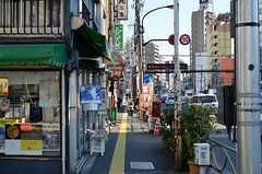 東京メトロ日比谷線・三ノ輪駅周辺の様子。(2016-01-14,共用部,ENVIRONMENT,1F)