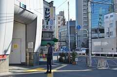 東京メトロ日比谷線・三ノ輪駅の様子。(2016-01-14,共用部,ENVIRONMENT,1F)