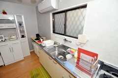 シェアハウスのキッチンの様子。(2010-01-13,共用部,KITCHEN,1F)