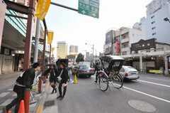 各線浅草駅前の様子。(2010-01-13,共用部,ENVIRONMENT,1F)