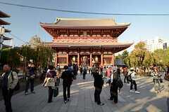 浅草寺の様子。(2013-11-06,共用部,ENVIRONMENT,1F)