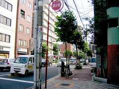 入谷駅からシェアハウスへ向かう道の様子。(2006-08-03,共用部,ENVIRONMENT,1F)
