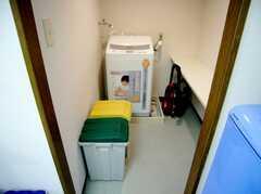 ランドリーの様子。(8011 - 8013号室)(2007-03-13,共用部,LAUNDRY,8F)