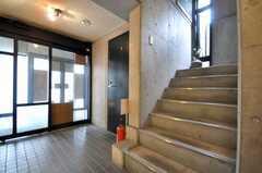 階段の様子。(2010-02-18,共用部,OTHER,1F)