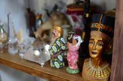 オーナーさんが世界各国から集めたコレクション。(2014-08-27,共用部,LIVINGROOM,3F)