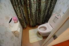 ウォシュレット付きトイレの様子。(2014-08-27,共用部,TOILET,3F)