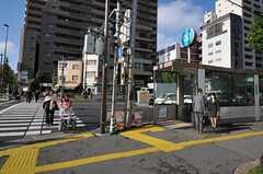 東京メトロ日比谷線・入谷駅の様子。(2012-11-12,共用部,ENVIRONMENT,1F)