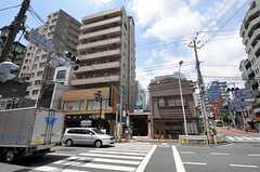 東京メトロ千代田線・千駄木駅の様子。(2011-07-13,共用部,ENVIRONMENT,1F)