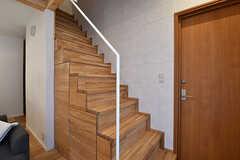 階段の様子。(2017-02-21,共用部,OTHER,1F)