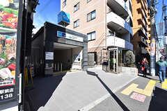 東京メトロ千代田線・千駄木駅の様子。(2017-02-21,共用部,ENVIRONMENT,1F)