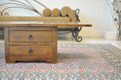 ソファテーブルの様子。(2013-08-12,共用部,LIVINGROOM,1F)