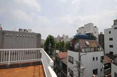 屋上からの眺め。(402号室)(2013-08-12,専有部,ROOM,4F)