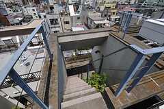 階段の様子。(2011-07-12,共用部,OTHER,2F)