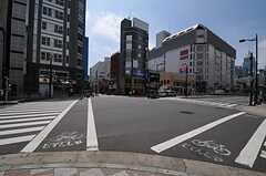つくばエクスプレス・浅草駅周辺の様子。(2011-07-12,共用部,ENVIRONMENT,2F)