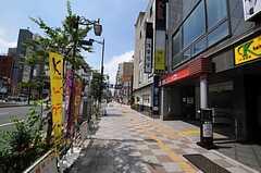 つくばエクスプレス・浅草駅前の様子。(2011-07-12,共用部,ENVIRONMENT,2F)