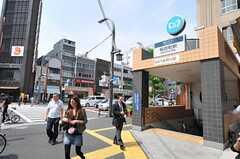 東京メトロ銀座線・稲荷町駅の様子。(2011-05-20,共用部,ENVIRONMENT,1F)