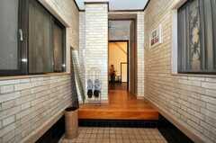 正面玄関から見た内部の様子。(2010-02-03,周辺環境,ENTRANCE,1F)
