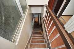 階段の様子。(2010-02-03,共用部,OTHER,1F)