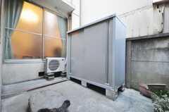 ゴミステーションの様子。ゴミはこちらへ。(2010-02-03,共用部,OTHER,1F)