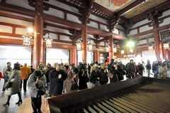 浅草寺の様子。(2010-02-03,共用部,ENVIRONMENT,1F)