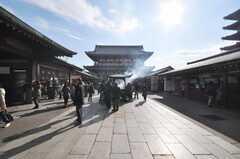 浅草寺周辺の様子2。(2010-02-03,共用部,ENVIRONMENT,1F)