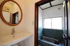 洗面台の様子。(2010-08-16,共用部,BATH,2F)