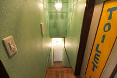 階段の様子。(2010-08-16,共用部,OTHER,2F)