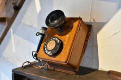 古い電話。(2019-11-20,共用部,OTHER,2F)