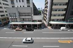 窓からの景色。(412号室)(2011-08-10,専有部,ROOM,4F)