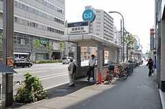 東京メトロ銀座線・田原町駅の様子。(2011-08-10,共用部,ENVIRONMENT,1F)