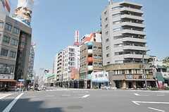 東京メトロ銀座線・田原町駅からシェアハウスへ向かう道の様子。(2011-08-10,共用部,ENVIRONMENT,1F)