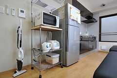 キッチン家電の様子。(2012-04-10,共用部,KITCHEN,2F)