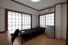 専有部の様子。和室をベースにした部屋です。(402号室)(2012-04-10,専有部,ROOM,4F)