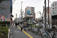 東京メトロ日比谷線・入谷駅の様子。(2012-04-10,共用部,ENVIRONMENT,1F)