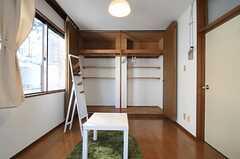 収納の様子。(303号室)(2011-02-03,専有部,ROOM,3F)