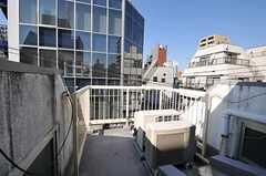 屋上の様子。(2011-02-03,共用部,OTHER,4F)