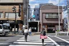 東京メトロ千代田線・千駄木駅の様子。(2010-10-14,共用部,ENVIRONMENT,1F)