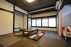 リビングは和室です。(2011-11-03,共用部,LIVINGROOM,2F)