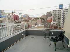 屋上の様子。(2006-09-27,共用部,OTHER,6F)