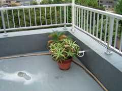 屋上の様子2。(2006-09-27,共用部,OTHER,6F)
