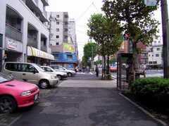 東京メトロ入谷駅からシェアハウスへ向かう道の様子。(2006-09-27,共用部,ENVIRONMENT,1F)
