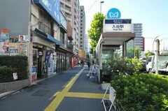東京メトロ日比谷線・入谷駅の様子。(2012-10-19,共用部,ENVIRONMENT,1F)