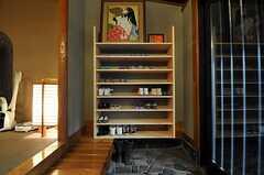 靴箱の様子。(2011-01-11,周辺環境,ENTRANCE,1F)